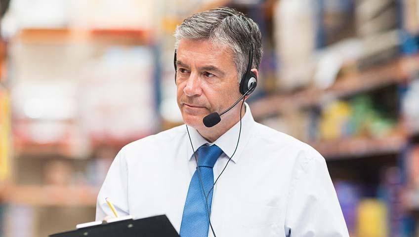 400035 warehouse Warehouse management DAS voice 1